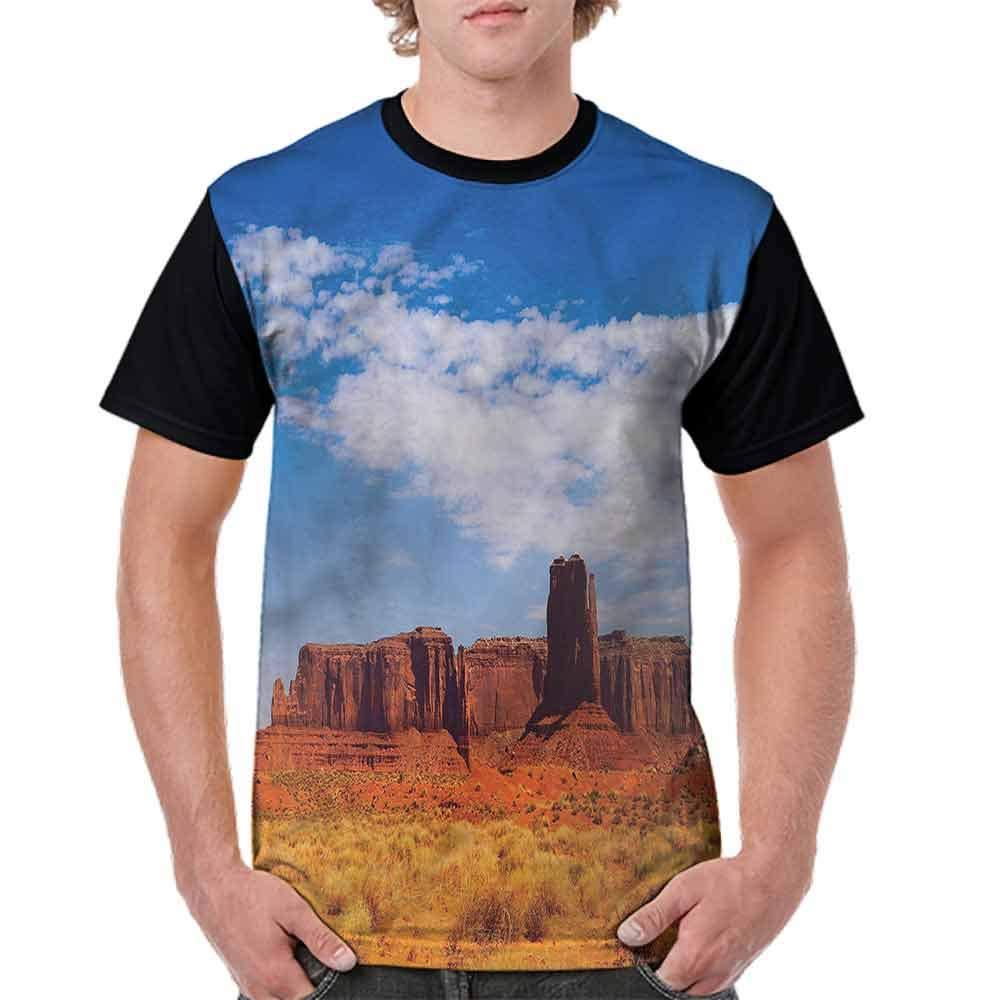 Classic T-Shirt,Peaks in The Arizona Desert Fashion Personality Customization
