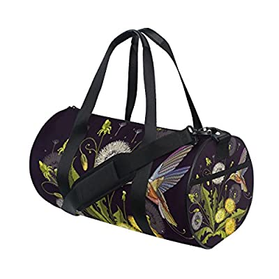 InterestPrint Large Duffel Bag Flight Bag Gym Bag Bulldog