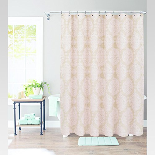 Threshold Pink Moroccan Medallion Shower Curtain 72in X 72in