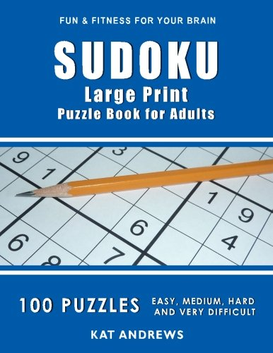SUDOKU Large Print Puzzle Adults product image