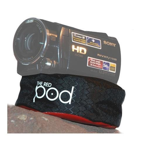 The Pod Red Bean Bag Camera Support for Compact Cameras