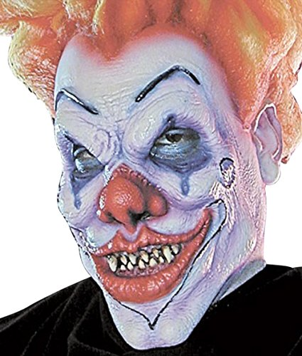 Woochie by Cinema Secrets Men's Evil Clown Foam Prosthetic with Makeup and Adhesive (Prosthetic Clown Costume)