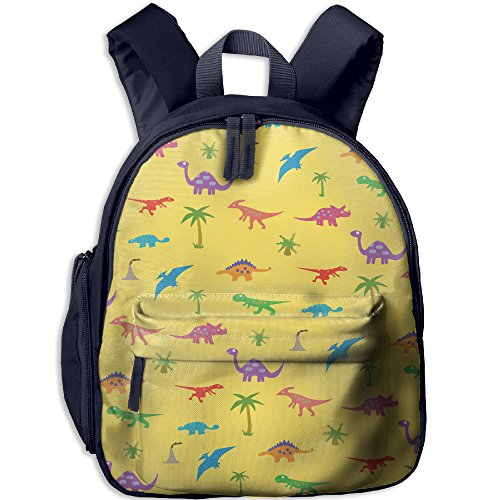 (Kid's Pre School Backpack Boy&girl's Dinosaurs And Coconut Palm Book Bag)