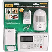 HomeSafe Wireless Home Security System, Home or Office, Auto Dialer, Alarm, Motion Sensor
