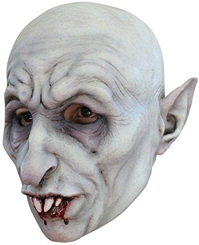 Nosferatu Bloody Vampire Monster Scary Latex Adult Halloween Costume Mask -