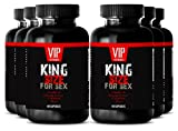 L-arginine l-citrulline - KING SIZE FOR SEX - Testosterone pills (6 Bottles 360 Capsules)