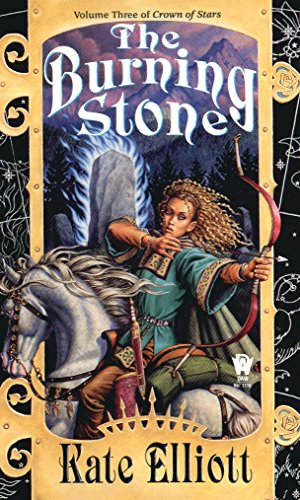 book cover of The Burning Stone