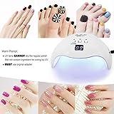 Gel UV LED Nail Lamp,LKE Nail Dryer 40W Gel Nail