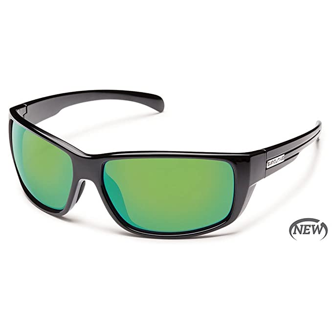 b0695ad8ba1ec Smith Optics Suncloud Sentry Polarized Sunglasses Tortoise Frame Green Mir  Lens Winter Sports