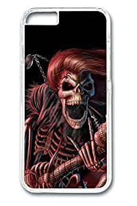 Cool Skull 14 Slim Soft Cover Case For Iphone 4/4S Cover PC Transparent Cases