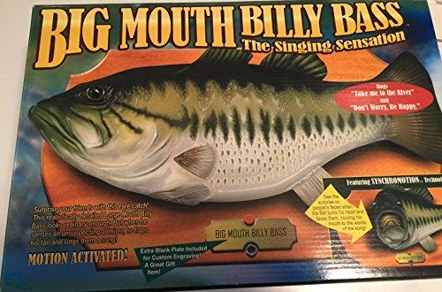 Gemmy Big Mouth Billy Bass The Singing Sensation