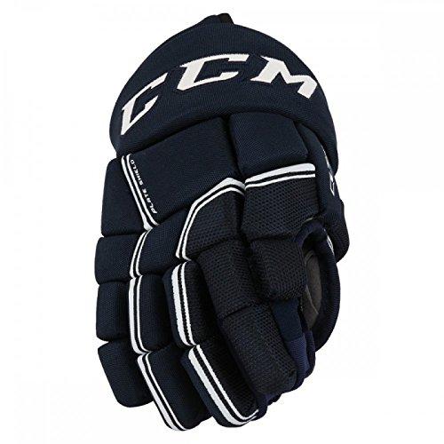 CCM New Quick Lite Navy/White Hockey Gloves Junior 11
