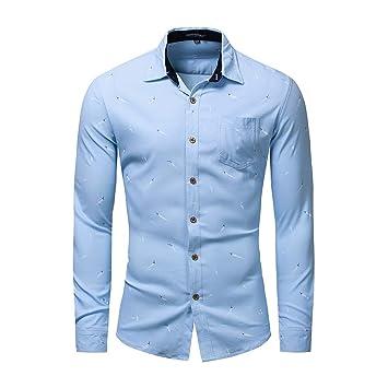 Casuales Baoffs De Los Hombres Clásicos Camisa Floral Camisas vmNnw80