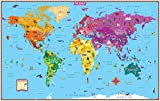 kids world map - Kids' World Map