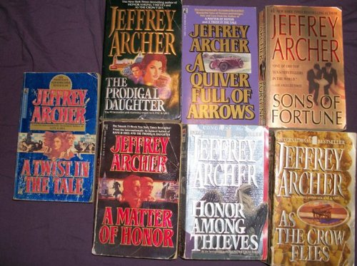 THE PRODICAL DAUGHTER-A MATTER OF HONOR-HONOR AMONG THIEVES-AS THE CROW FLIES-A TWIST IN THE TALE-A QUIVER FULL OF ARROWS-SON OF FORTURE