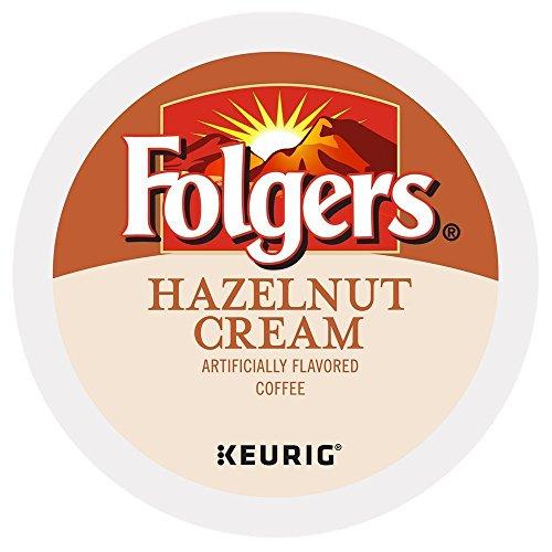 Folgers Hazelnut Cream Keurig K-Cup Portion Pack, 96 Count