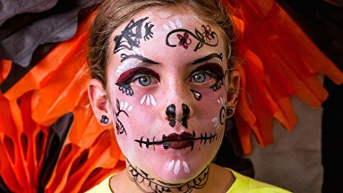 [Kids Halloween Face Painting] (Costume Design Online Classes)