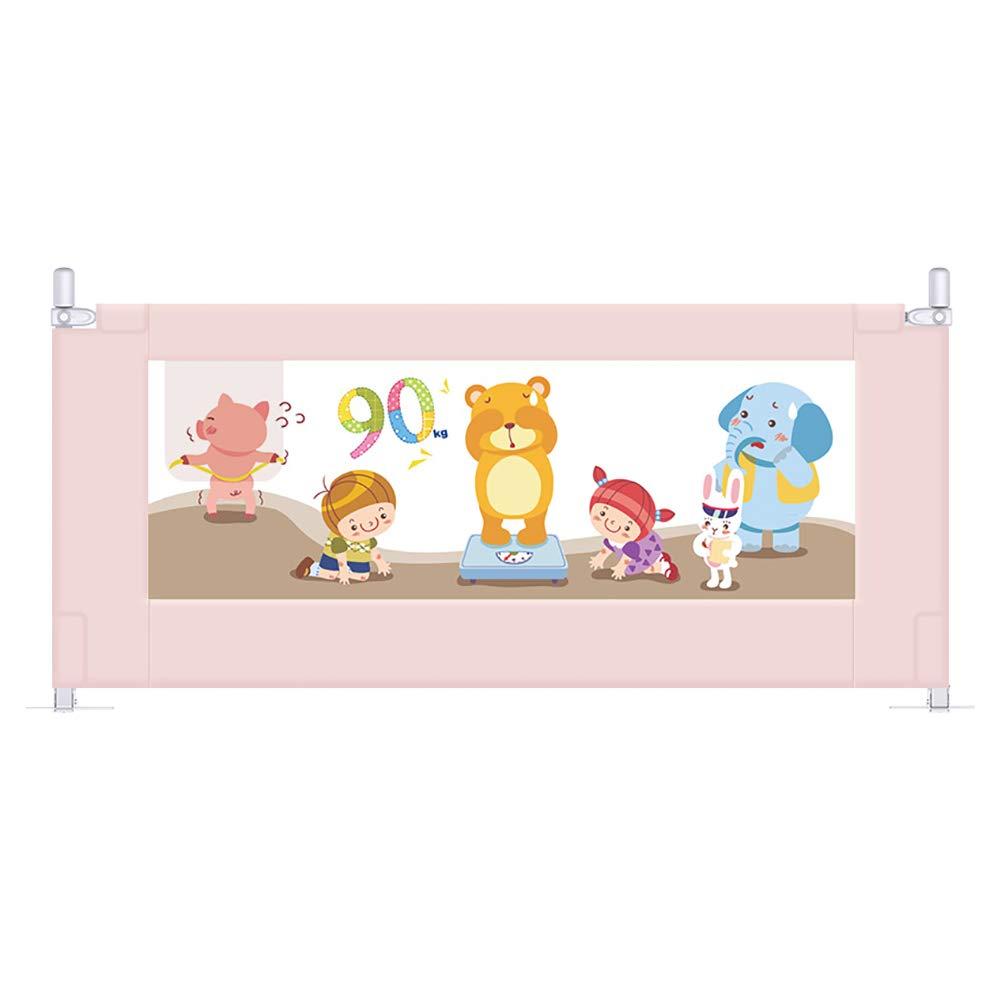 ベッドフェンス ベットベッドユニバーサル、ベッドサイドの子供用バッフルのための垂直エレベーターベッドガードレール、アンチフォールズベッドガードレール (サイズ さいず : 150cm) 150cm  B07LCYBS7W