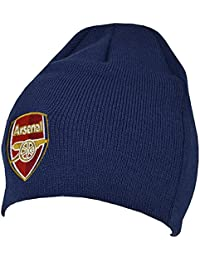 FC Official Adults Knitted Soccer/Football Crest Winter Beanie Hat