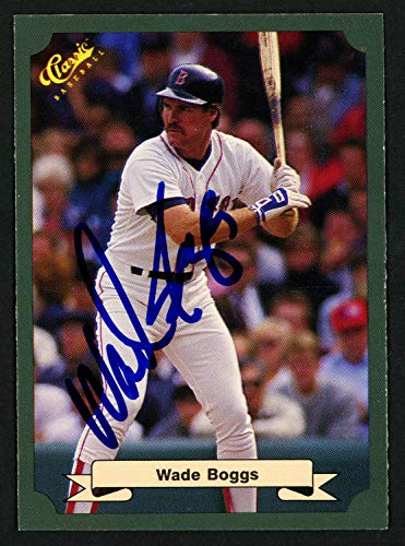 Wade Boggs Autographed Signed Memorabilia 8x10 Photo Boston Red Sox To Benjamin Best Wishes 151519 - Certified Authentic