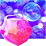 LED Bubble Machine - Lights Up Changing Colors to the Beat of the Music as it Makes Lots of Bubbles. Great for Birthday Parties. from Adkins Profesional Lighting