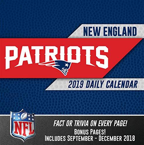 Turner Licensing New England Patriots 2019 Box Calendar (19998051445) (New Trivia)