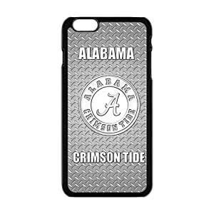 "Custom Extraordinary Best Design NCAA basis Alabama times Crimson Tide Team Logo this Plastic Case Cover for iPhone6 Plus 5.5"" for"