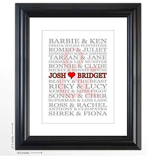 Personalized Wedding Gift -