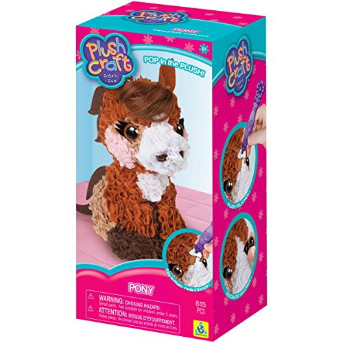 The Orb Factory PlushCraft Pony 3D (Horses 3d)