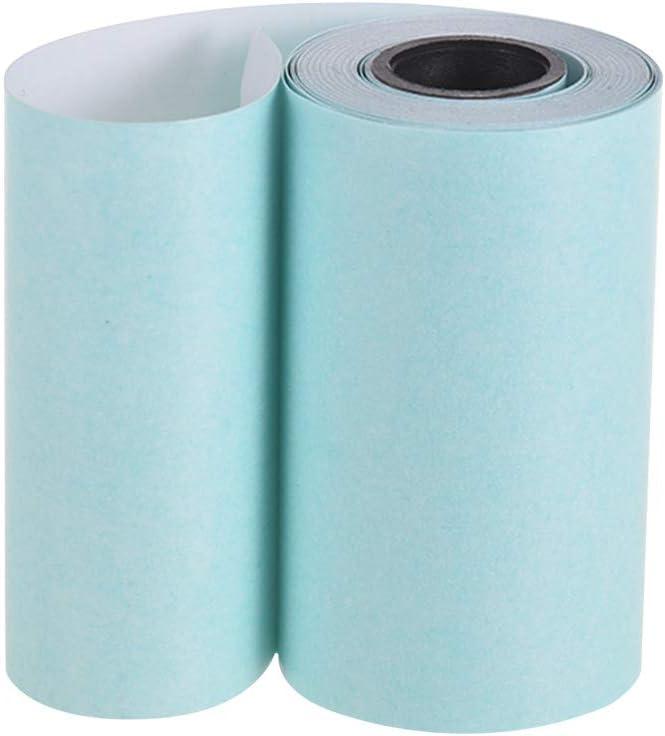 Amazon.com: Walmeck - Rollo de papel adhesivo térmico con ...