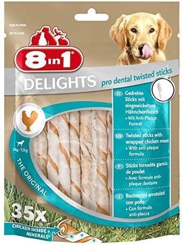 8in1-Kauknochen/Kaustangen-für-Hunde-zur-Zahnpflege