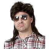Kaneles Mullet Wigs for Men 80s Costumes Fancy