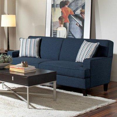 Coaster Home Furnishings Transitional Sofa, Blue