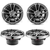 4 x Infinity 622m 2-Way 6-1/2'' 6.5'' 225 Watt Marine Boat Coaxial Speaker (2 Pairs - Bulk Packaging)