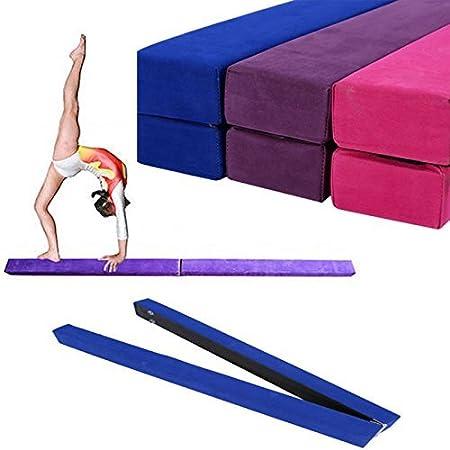 Gototop Poutre d/'/équilibre de gymnastique pliable de 220/cm pour salle d/'entra/înement salle de sport