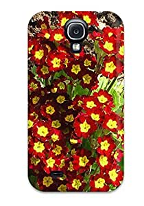 AIYAYA Snap On Hard Case Cover Primula Flowers Protector For Galaxy S4