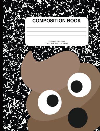 Download Hilarious Poop Man Composition Notebook: 200+ Pages, College Rule, Great for School, as a Notebook, Diary, or Journal pdf epub