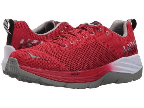 Hoka One One(ホカオネオネ) メンズ 男性用 シューズ 靴 スニーカー 運動靴 Mach - Racing Red/Black [並行輸入品] B07C8G1CF8