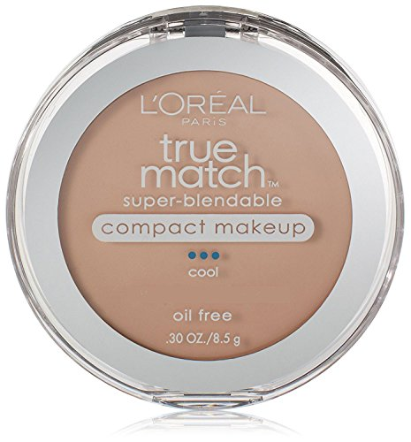 Loreal True Match Compact - L'Oreal Paris True Match Super-Blendable Compact Makeup, Spf 17, Natural Ivory, 0.30 Ounce, 2 Ea (Pack of 2)