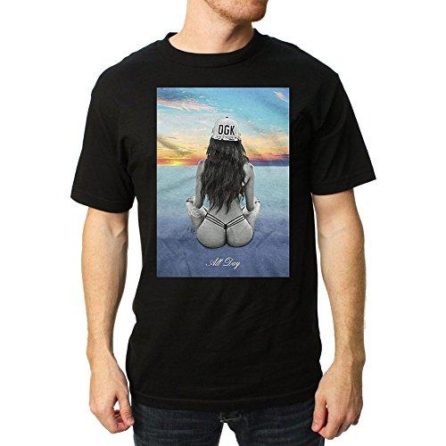 DGK Men's Inner Peace SS T Shirt Black - Shirts Ss Black