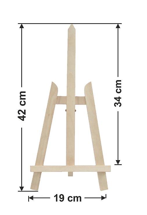 Caballete de madera de haya, atril para pintar, soporte para bocetos, mesa de exposición, duradero, 180 x 62 cm: Amazon.es: Hogar