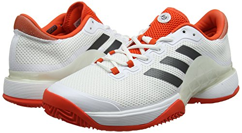 Red Hombre Barricade White 2017 White Altas Adidas Zapatillas Red para White qH4pgBRwx