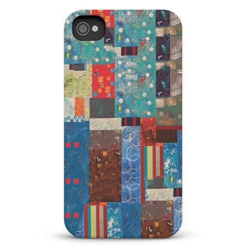 Koveru Back Cover Case for Apple iPhone 4/4S - Paint Pattern