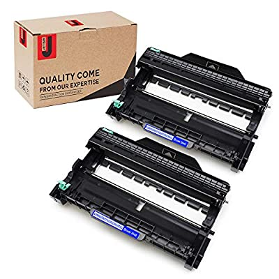 JetSir 2-Pack Brother DR630 DR-630 Drum Unit for Brother TN660 Toner HL-L2300D HL-L2305W HL-L2320D HL-L2340DW HL-L2360DW HL-L2380DW DCP-L2520DW DCP-L2540DW MFC-L2700DW MFC-L2720DW MFC-L2740DW Printer