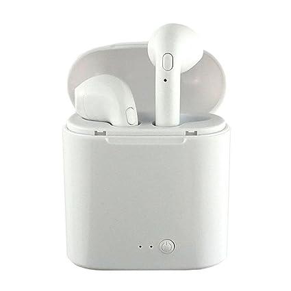 Auriculares inalámbricos Bluetooth, OXOQO I7S Ture TWS Auriculares inalámbricos Auriculares Auriculares dobles gemelos Auriculares estéreo