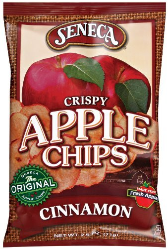 Seneca Cinnamon Apple Chips,2.5-ounce Bags (Pack of 5) (Granny Chips Apple Smith)