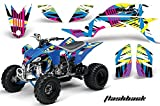 2007 yfz 450 graphics - Yamaha YFZ 450 2004-2013 ATV All Terrain Vehicle AMR Racing Graphic Kit Decal FLASHBACK