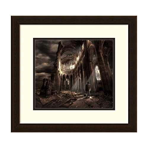 Amanti Art Faith' by Christophe Kiciak Framed Art Print, 19 x 18'' by Amanti Art