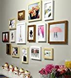 Painting Mantra Colorful Memories Individual Photo Frame (3pc: 8x10, 8pc: 5x7, 4pc: 4x6 inch, Set of 15, Mix Color)