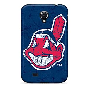 RichardBingley Samsung Galaxy S4 Protective Cell-phone Hard Covers Support Personal Customs HD Cleveland Indians Pattern [DbQ13199iAGm]